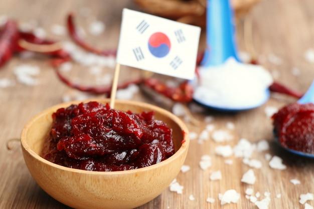Molho de pimenta vermelha coreana - kochujang