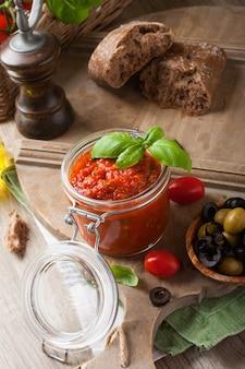 Molho de tomate caseiro tradicional