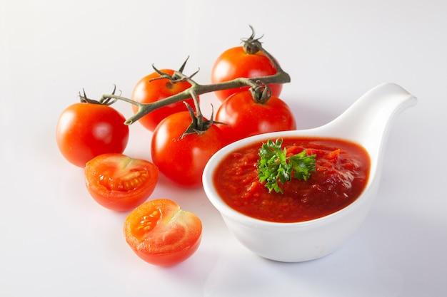 Molho de tomate, gaspacho, ketchup