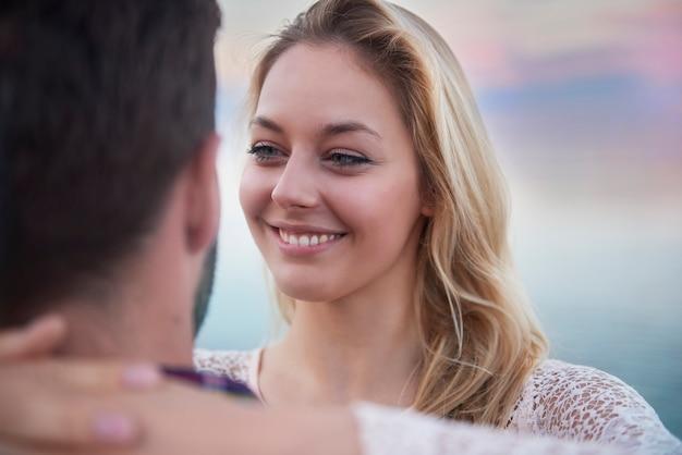 Momentos românticos com pessoa especial