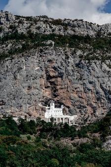 Monastério de ostrog incrível, montenegro