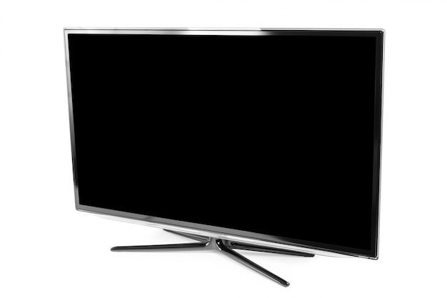 Monitor 4k isolado no branco