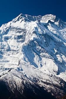 Montanha de annapurna, himalaia
