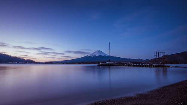 Montanha do lago fuji