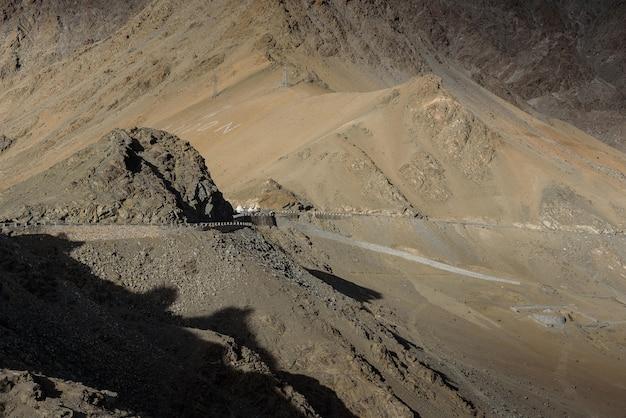 Montanha em leh ladakh na noite