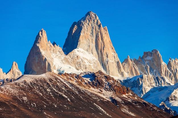 Montanha fitz roy, patagônia