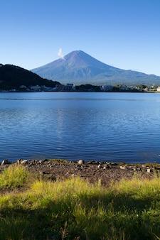 Montanha fuji no japão no verão