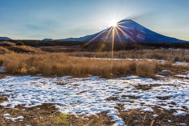 Montanha fuji sunrise