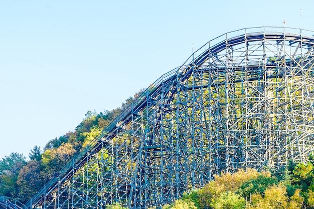 Montanha russa no parque da coreia