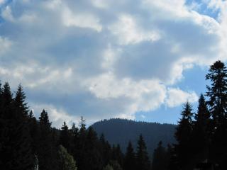 Montanha vista para a montanha