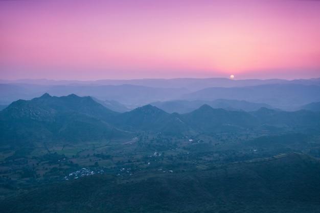Montanhas de aravalli, udaipur