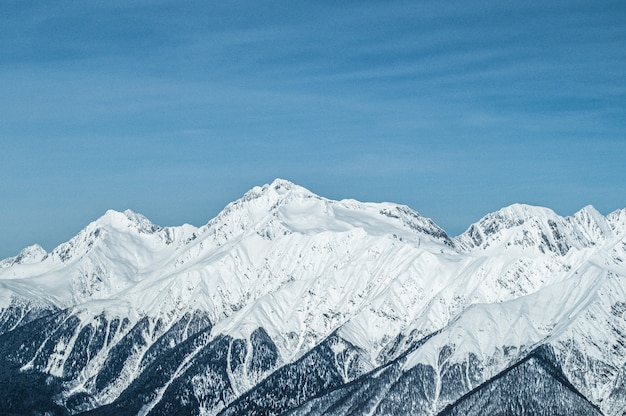 Montanhas de krasnaya polyana
