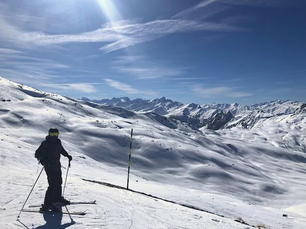 Montanhas dos alpes na frança
