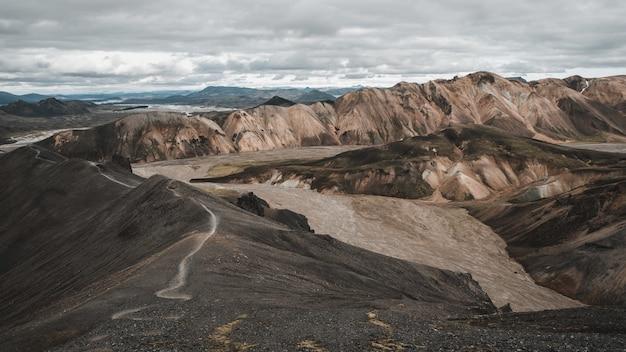 Montanhas landmannalaugar islândia