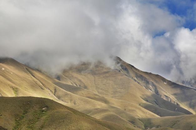 Montanhas na ilha sul, nova zelândia