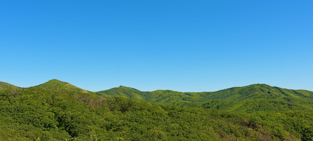 Montanhas no verão