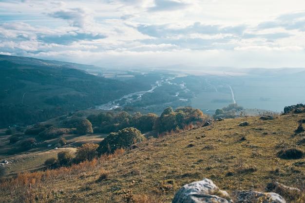 Montanhas, paisagem, natureza, viagens, liberdade, ar fresco