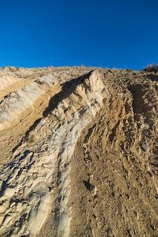 Montanhas rochosas alpinas