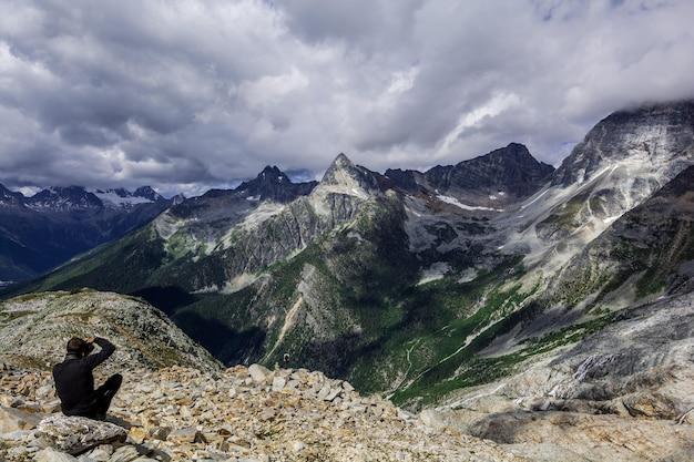 Montanhas rochosas. canadá.