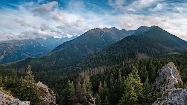 Montanhas tatra no verão