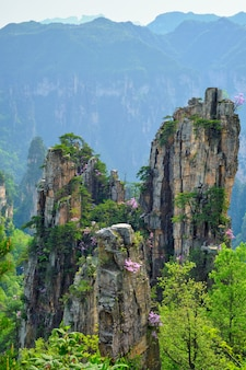 Montanhas zhangjiajie, china