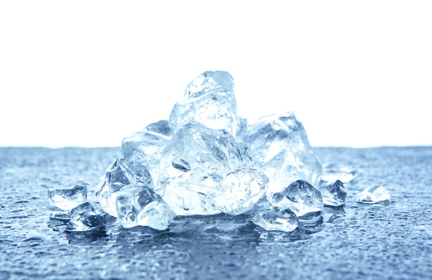 Monte de gelo picado