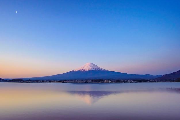 Monte fuji em kawaguchiko, japão