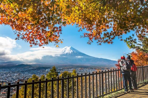 Monte fuji no outono
