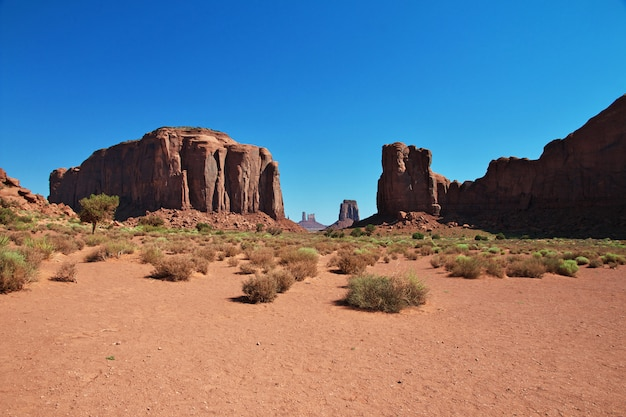 Monument valley em utah e arizona
