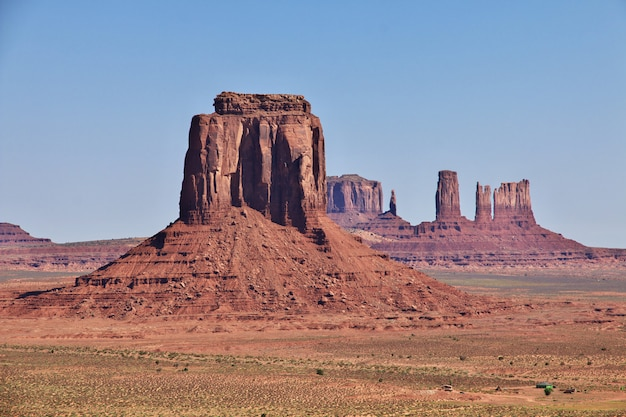 Monument valley em utah e arizona