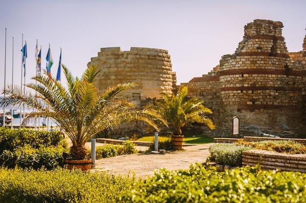 Monumento arquitetônico no destino turístico bonito