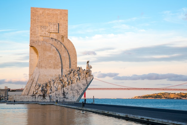 Monumento às descobertas de lisboa