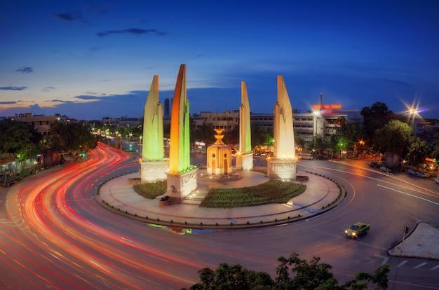 Monumento da democracia da tailândia