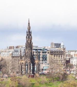 Monumento de edimburgo escócia