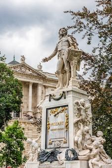 Monumento de mozart em viena