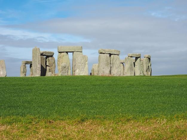 Monumento de stonehenge em amesbury