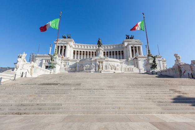 Monumento de vittorio emanuele ii em roma