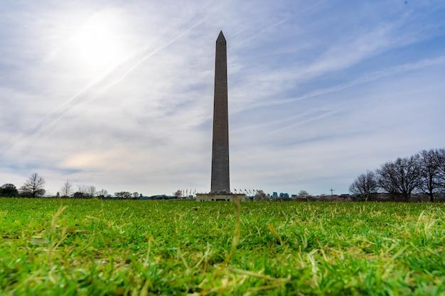 Monumento de washington dc eua