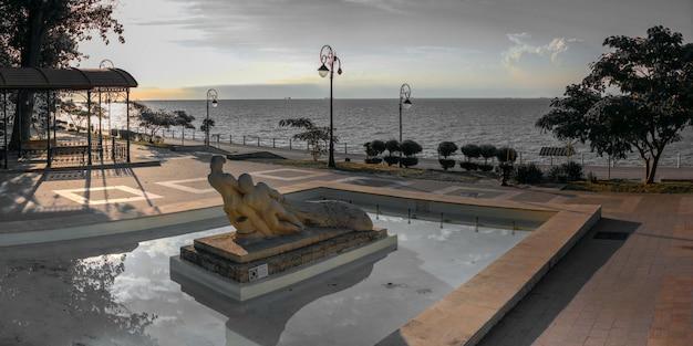 Monumento dos pescadores em constanta, romênia