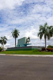 Monumento localizado em boa vista brasil