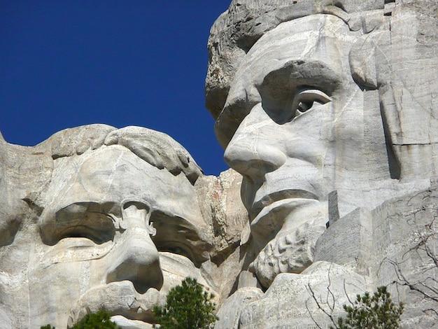 Monumento memorial montagem nacional rushmore