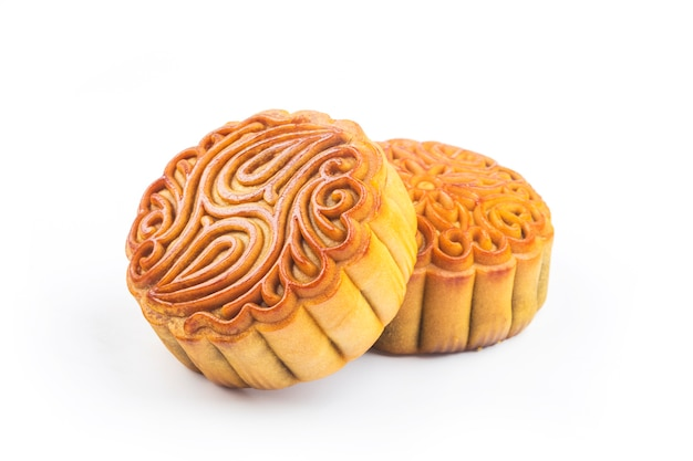 Mooncake, comida chinesa do festival de meados do outono.