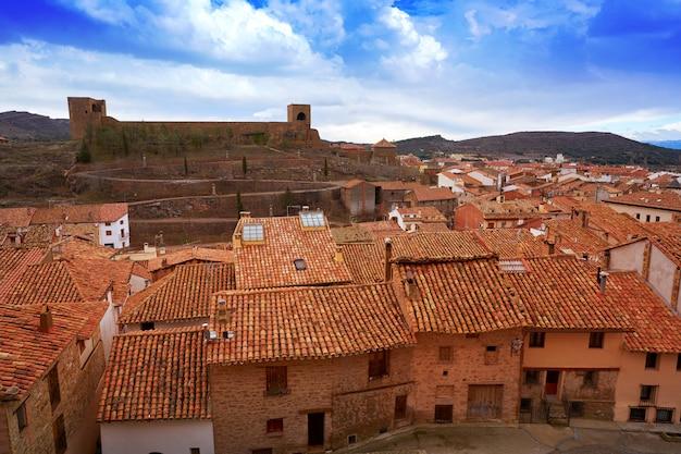 Mora de rubielos aldeia em teruel espanha