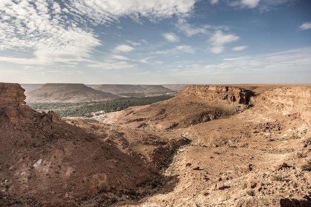 Moradores, livin, em, deserto, ziz, vale, marrocos