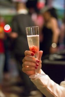 Morangos e champanhe