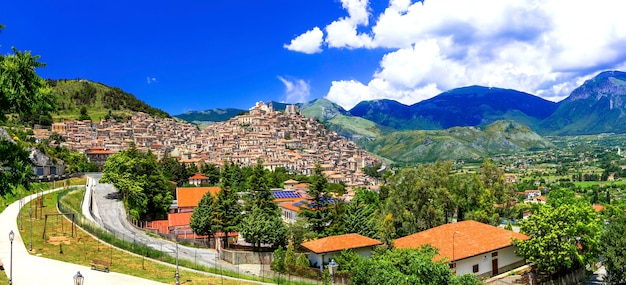 Morano calabro - uma das mais belas vilas medievais da itália