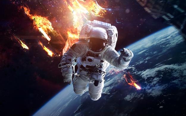 Morto da estação espacial internacional