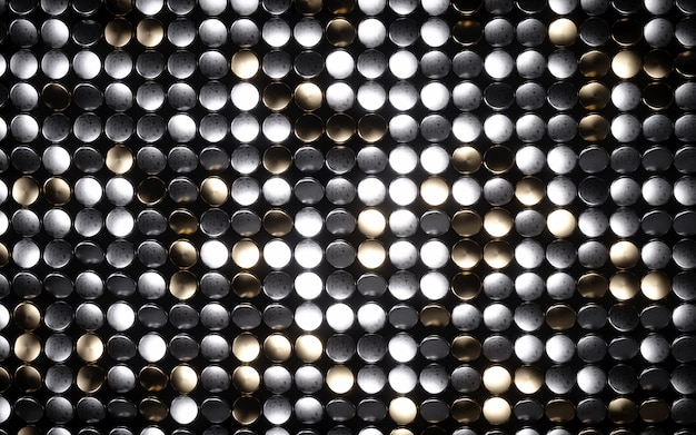 Mosaico brilhante círculo