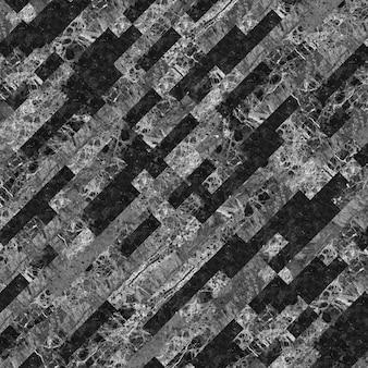 Mosaico de mármore natural. textura de fundo preto e branco para design