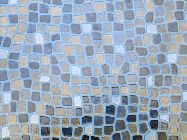 Mosaico de vidro no banheiro